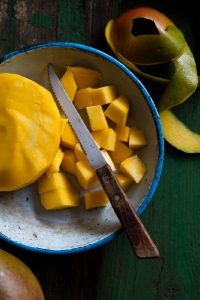 Mango Syllabub | Food Photography | Carlisle, Cumbria
