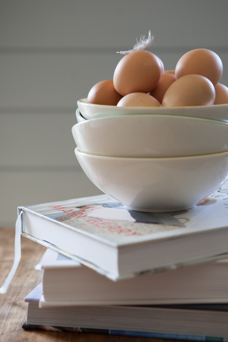 Kitchen Studio with our own eggs!