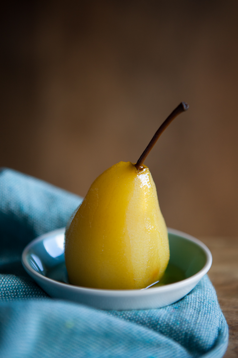 Vibrant juicy dessert pear