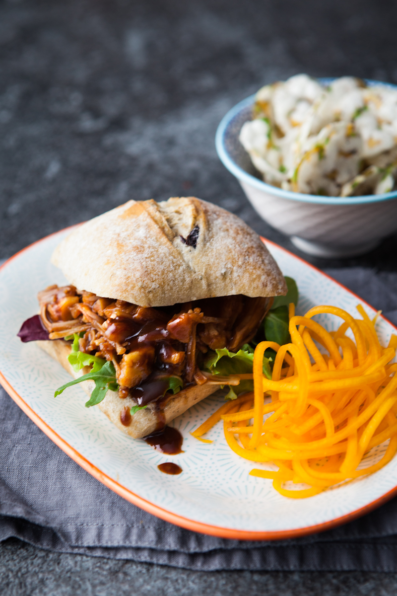 Delicious Veggie Alternative to Pulled Pork