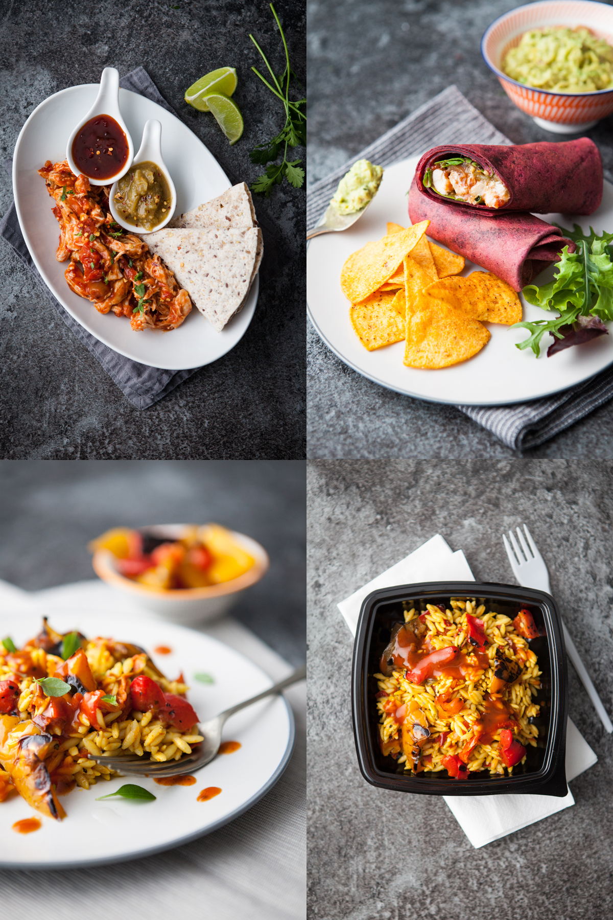 Selection of images taken for Calder Foods