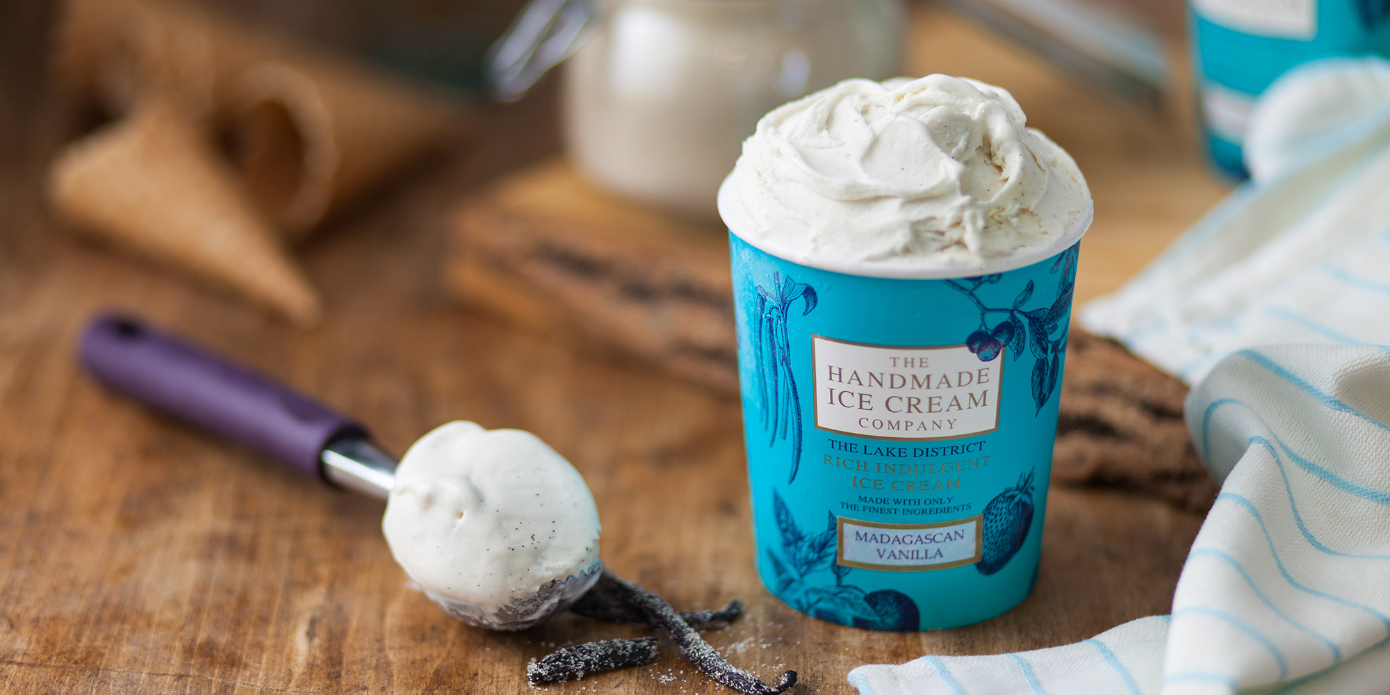 Madagascan Vanilla Ice Cream