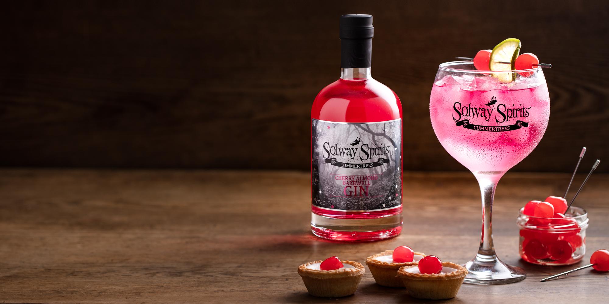 Cherry Almond Bakewell Gin