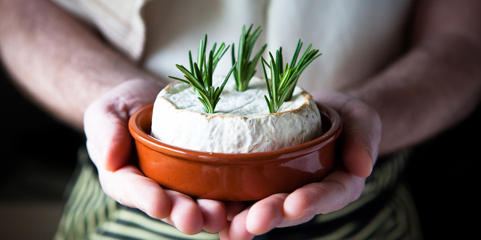 Baked Brie & Rosemary