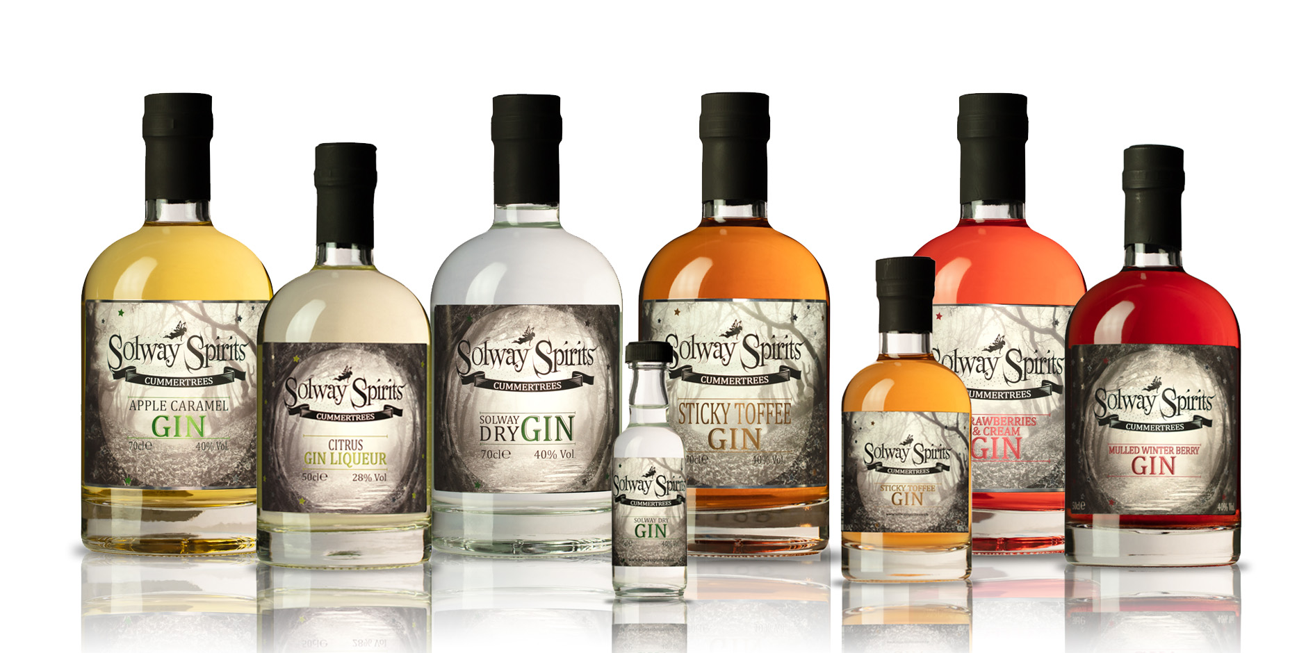 Solway Spirits Gins & Liqueurs