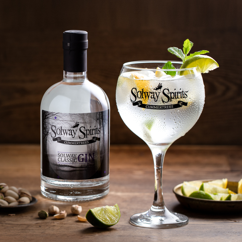 Gin & Tonic with Rosemary & Lime